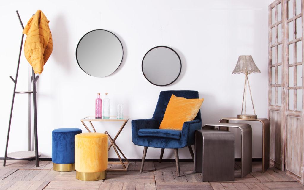 muebles terciopelo